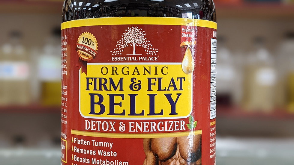 Organic Firm and Flat Belly Detox & Energizer