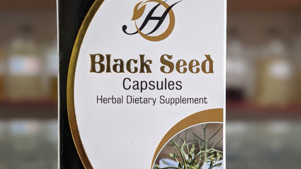 Herboganic Black Seed 60 Capsules