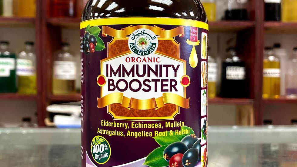 Organic Immunity Booster Elderberry, Echinacea, Mullein,
