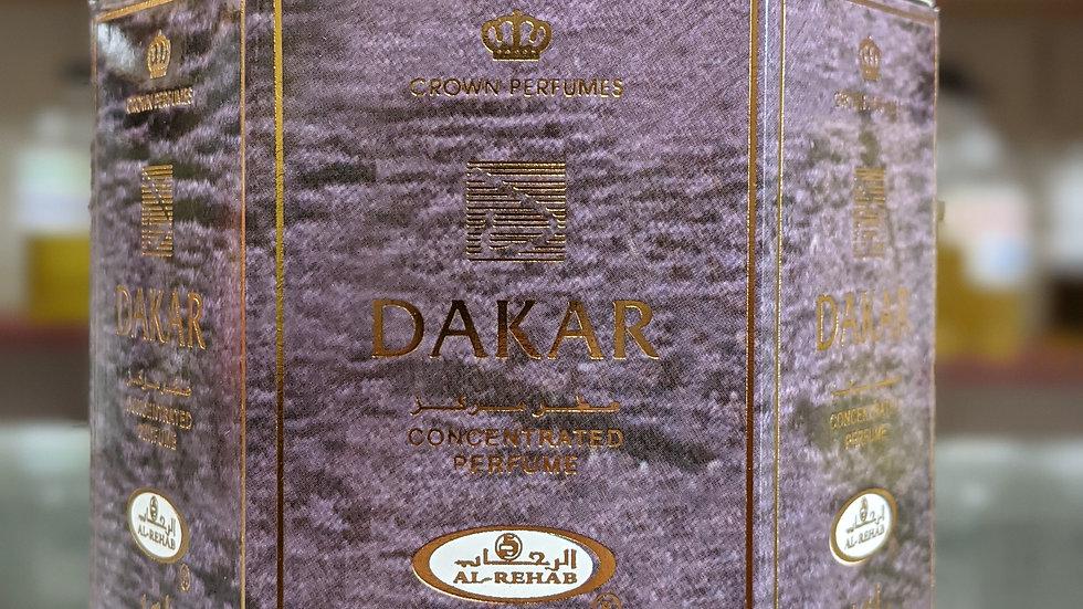 Dakar Concentrated Perfume(Roll On) 6x6mL