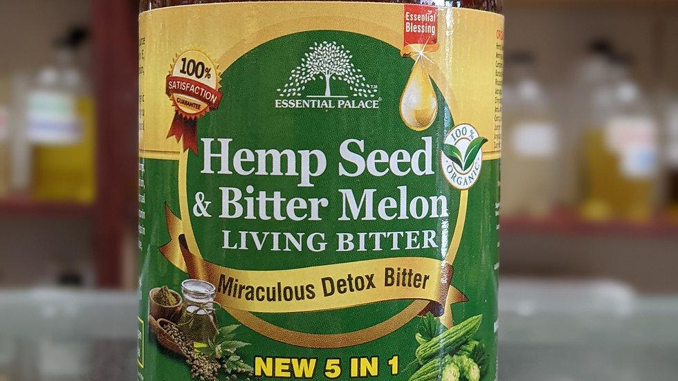 Organic Hemp Seed & Bitter Melon Living Bitter