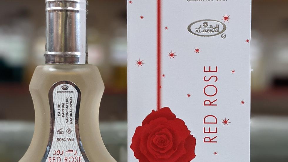 Al-Rehab Red Rose 35mL Perfume Spray