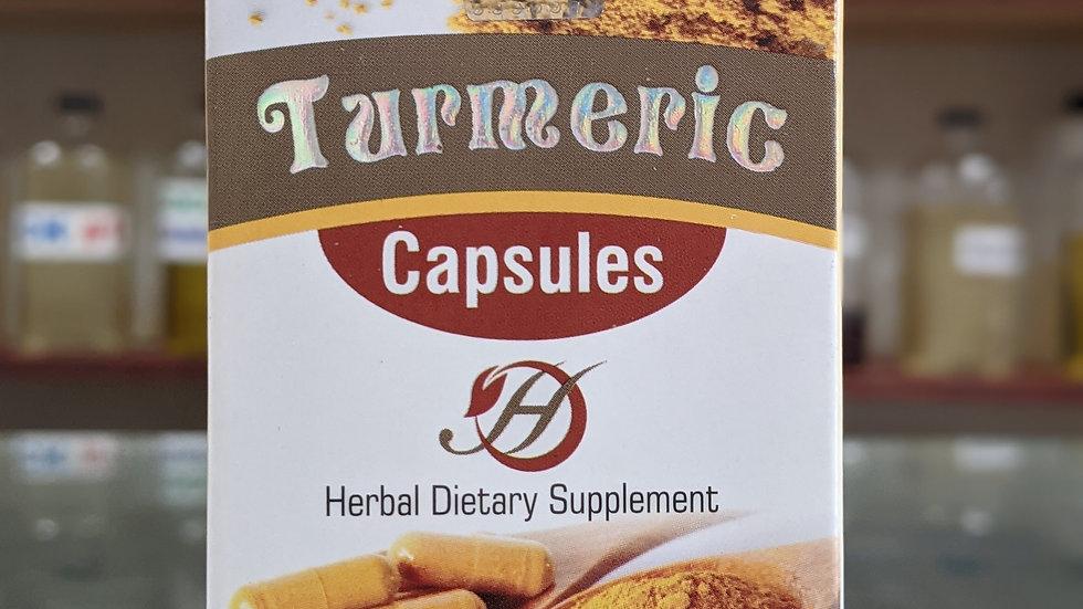 Herboganic Turmeric 60 Capsules