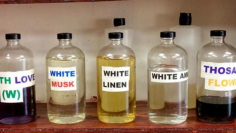 Body Perfumes & Burning Oils (White Diamond to The Scent)