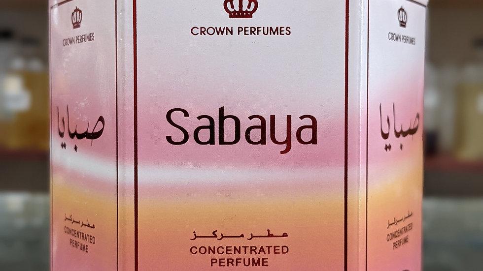 Sabaya Concentrated Perfume(Roll On) 6x6mL