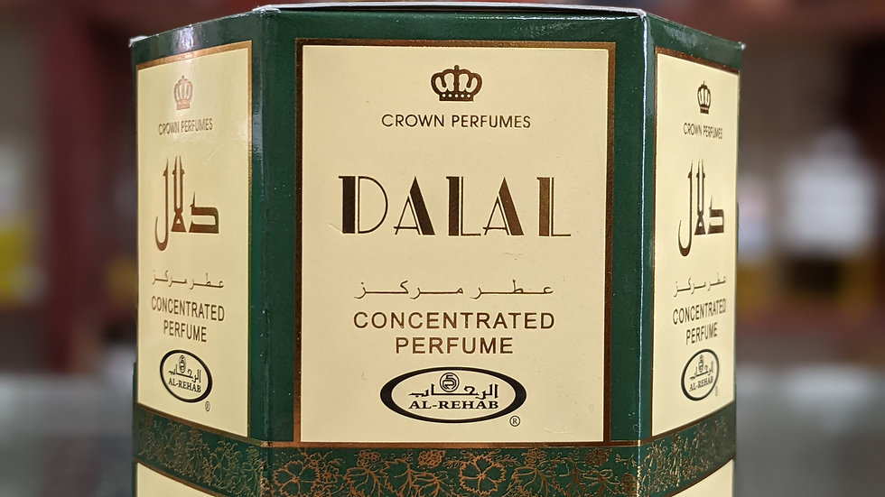 Dalal Concentrated Perfume(Roll On) 6x6mL