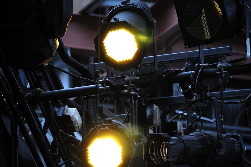 Stage Lighting Setup