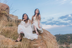 Sister photoshoot portraits in mexico by cyclops girl photography