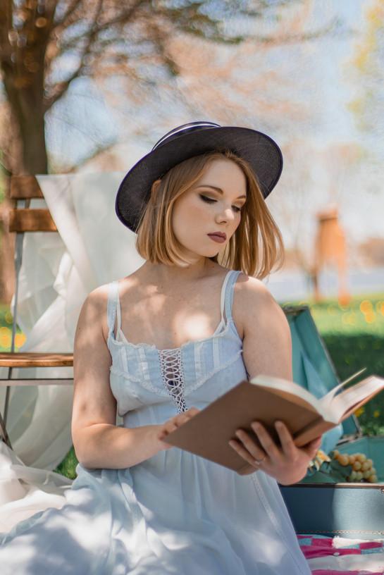Ana Ana Vintage Fashion Portraits by Jocelyne