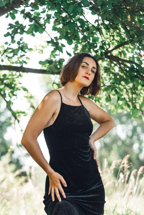 Madeline in vintange Green Bay WI Portra