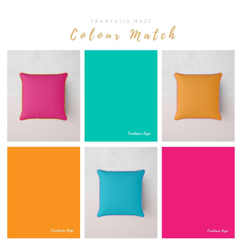 Vibrant Colourful Fabrics. Interior Design. Harrogate.