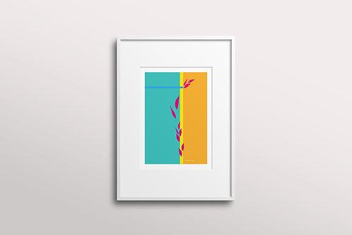 Abstract Essence Giclee Art Print, Uplift