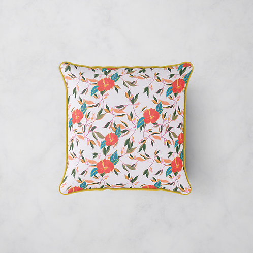 Hibiscus Trail Cushion - Summer Morning