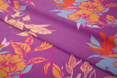 Garden of Hibiscus, Berry Chiffon