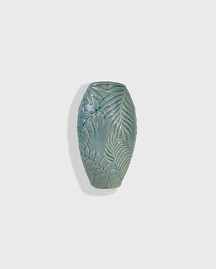 Frantasia Haze Homeware. Tropical Leaf Vase. Modern Homeware. Home Accessories. Home Decor. Harrogate Interiors.