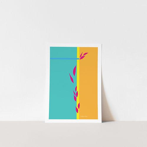 Abstract Essence Art Print - Uplift