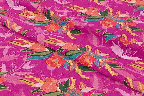 Wings of Hibiscus, Magenta Sun