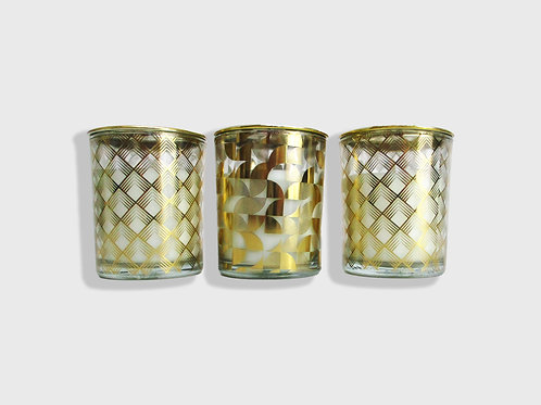 Luxe Scented Candle Trio