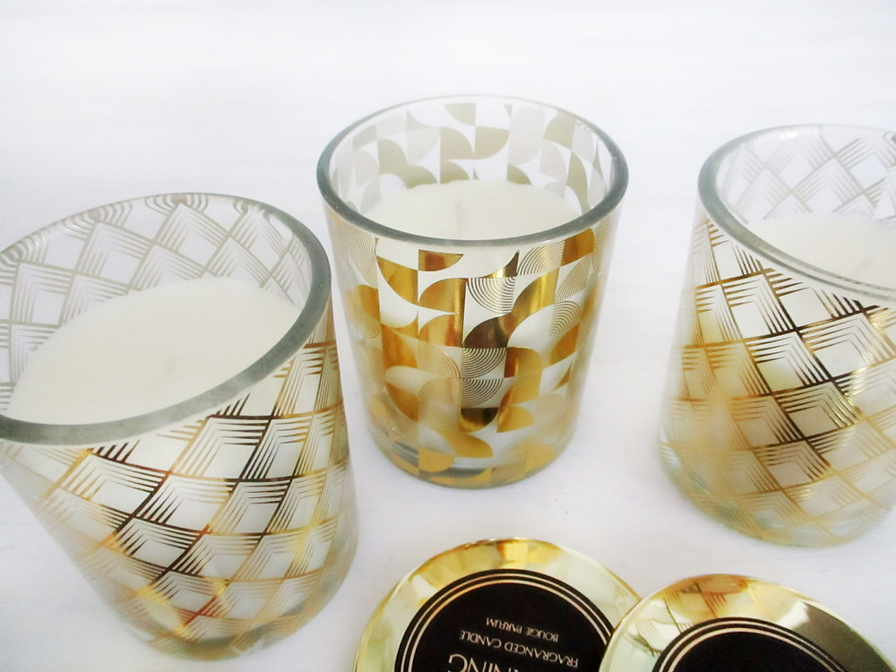 Luxe Scented Candle Trio by Frantasia Haze