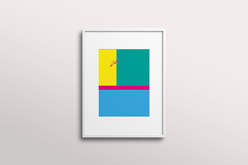 Abstract Essence Giclee Art Print, Joy