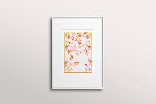 Summer Garden Giclee Art Print