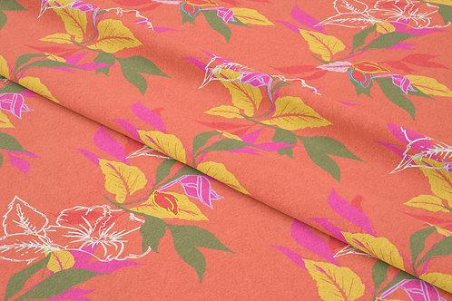 Hibiscus Leaf, Sunset Hibiscus