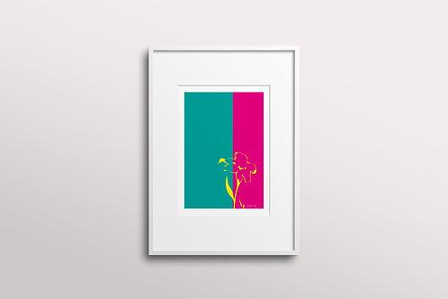 Abstract Essence Giclee Art Print, Bloom