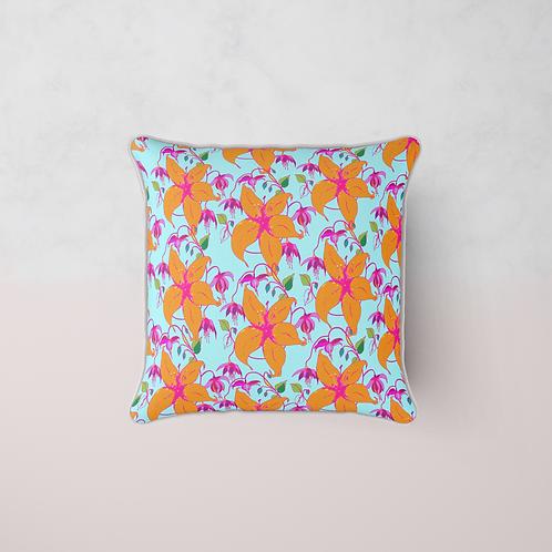 Lilia Bloom Cushion Cushion - Lilia Sky