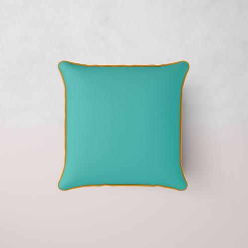 Colour Match Chenille Cushion - Fuchsia Tropics