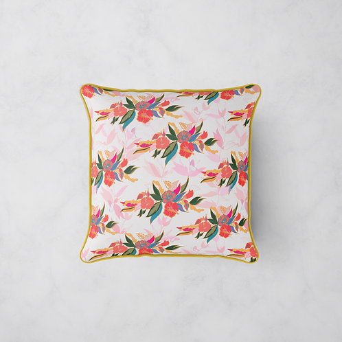Wings of Hibiscus Cushion - Hibiscus Breeze