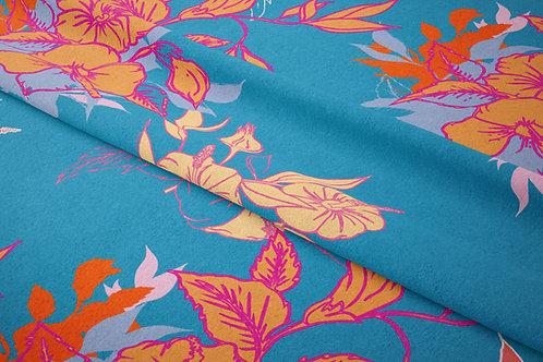 Garden of Hibiscus, Satin Petals