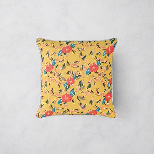 Hibiscus Trail Cushion - Summer Glow