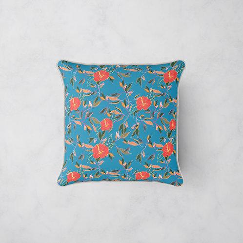 Hibiscus Trail Cushion - Hibiscus Nights