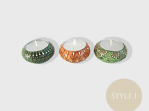 Moroccan Style Trio Candle Set (4 Styles Available)