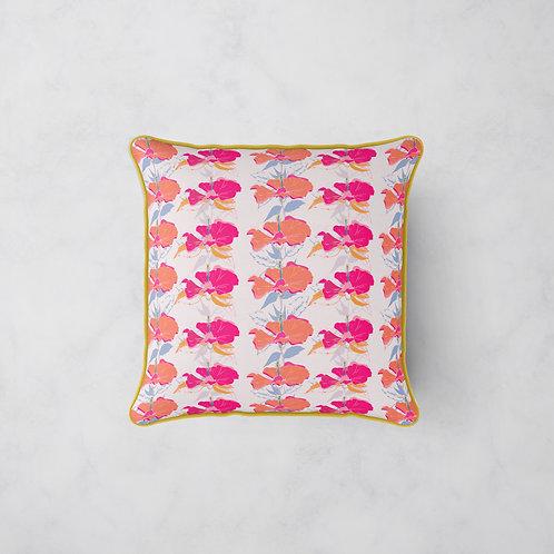 Summer Jazz Cushion - Hibiscus Sunrise