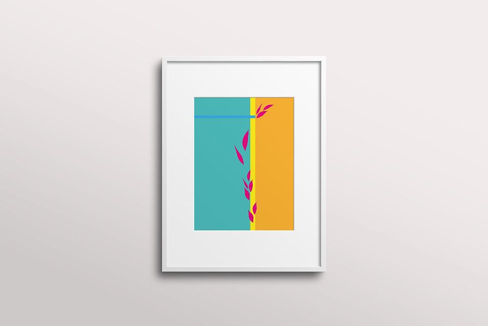 Frantasia Haze Art Prints, Wall Art, Floral Art, Contemporary Art, Modern Art, Colourful Art, Harrogate Artist, Home Decor