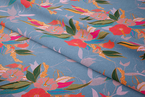 Wings of Hibiscus, Violet Dusk