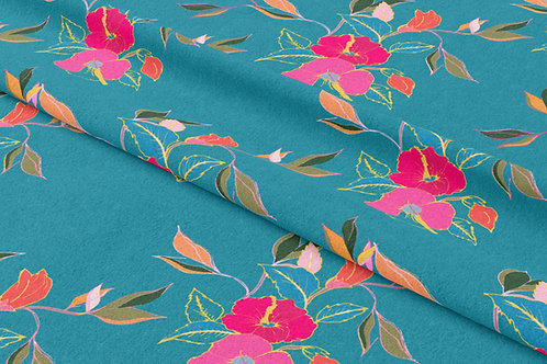 Hibiscus in Bloom, Summer Blooms