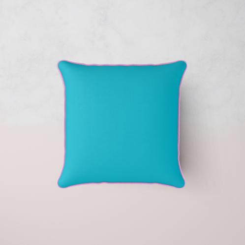 Colour Match Chenille Cushion - Butterfly Silk
