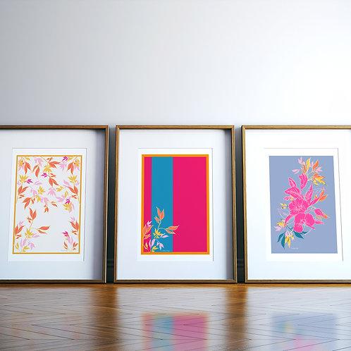 Summer Blooms Giclee Art Print