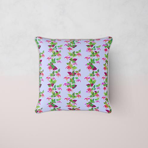Fuchsia La Vine Cushion - Lila