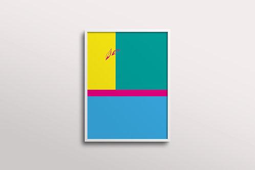 Abstract Essence Art Print - Joy