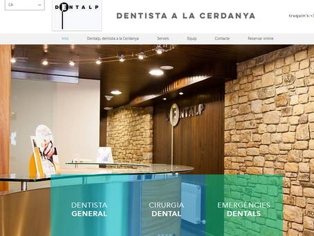 Dentalp Maig 2020: situació pos Covid-19 i estreno de nova web.
