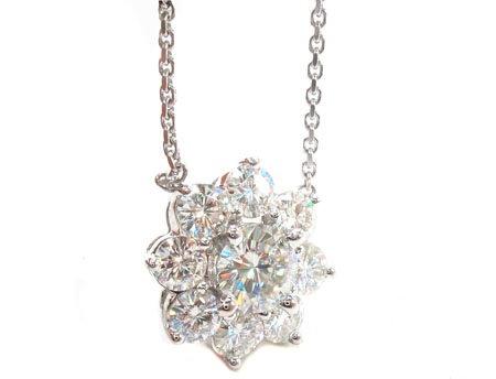 Prong Diamond Necklace