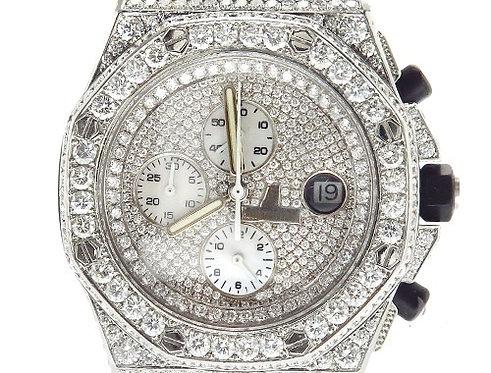 Pave Diamond Audemars Piguet Watch 42348 21.75ct
