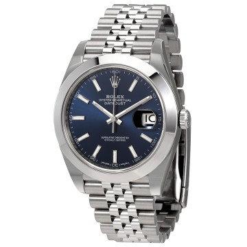 Rolex Datejust 41 Blue Dial Automatic