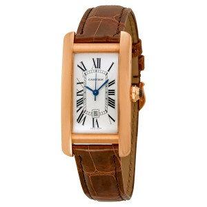 Cartier Tank Americaine 18kt Pink Gold Medium