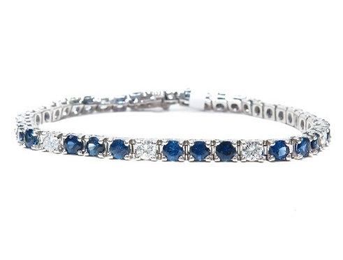 Sapphire & Diamond 1.00ct