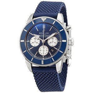 Breitling Superocean Heritage II Chronograph Automatic Chronometer Blue Dial