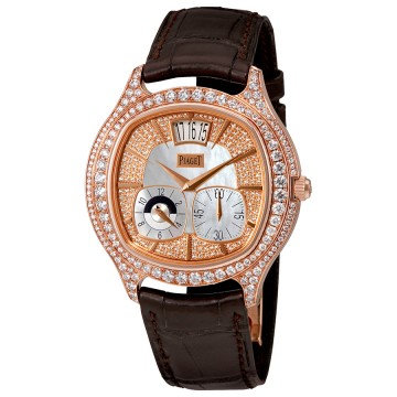 Piaget Emperador Mother of Pearl 18kt Rose Gold Diamond